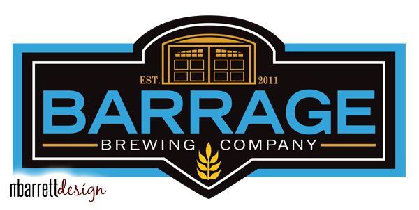Logo Redesign for Barrage Brewing Company