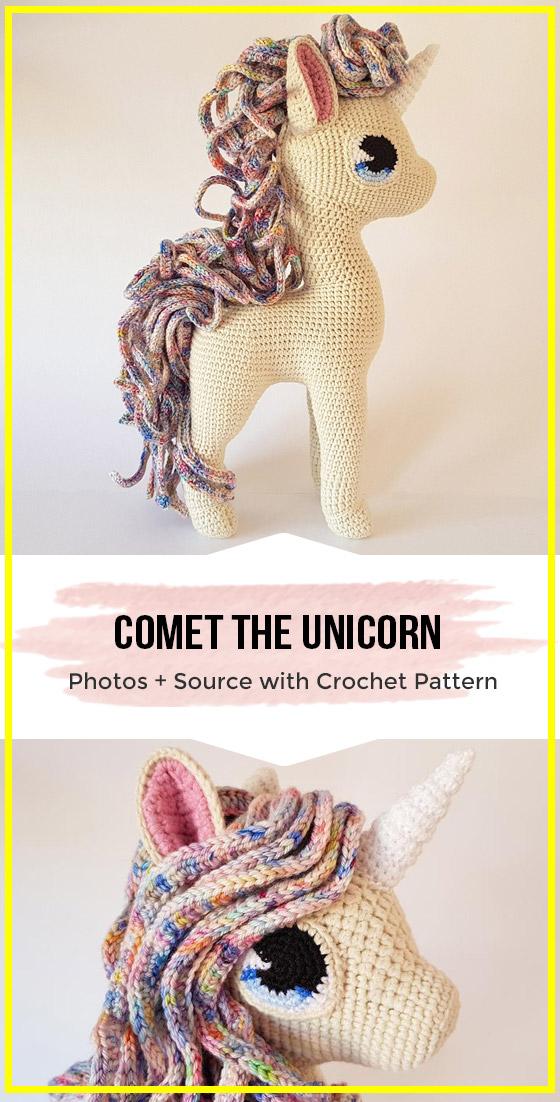 crochet deluxe amigurumi horse pattern
