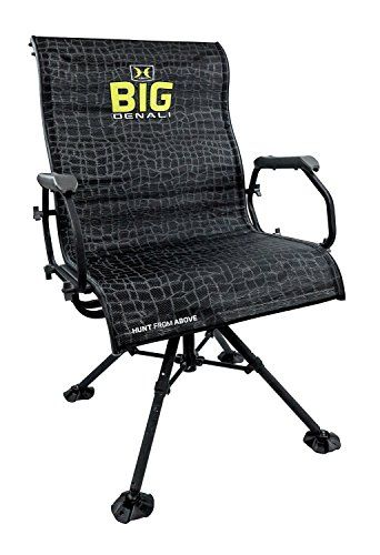Hawk Big Denali Luxury Blind Chair   Extra Large, Silent, Comfortable,  Swiveling,