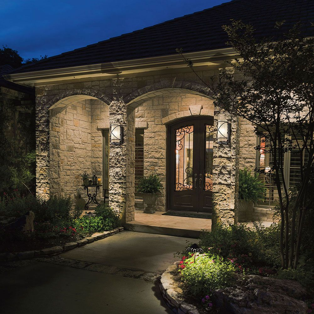 Kichler Trafari 49358az Outdoor Sq Available At Bf Landscape 856 740 See Lighting Ideas And