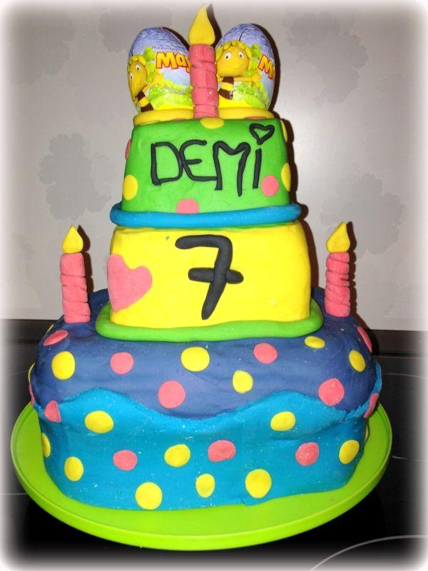 play doh taart Cadeautip voor kinderen : taart van klei !   Kinderen taart  play doh taart