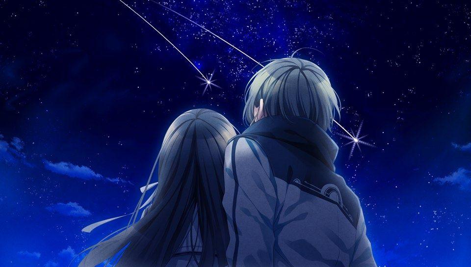 Azuma Natsuhiko y Kuga Mikoto ~ Norn9: Norn + Nonette (Aventura, Fantasía, Romance, Shoujo, Otome, Escolar, Harem Inverso, Anime Invierno 2016)