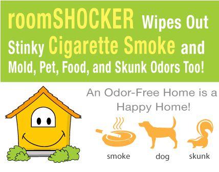 Room Shocker Quick Release Odor Eliminator Must Order This For