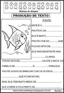 Producoes De Textos Lacunados Para Alfabetizacao Producao De