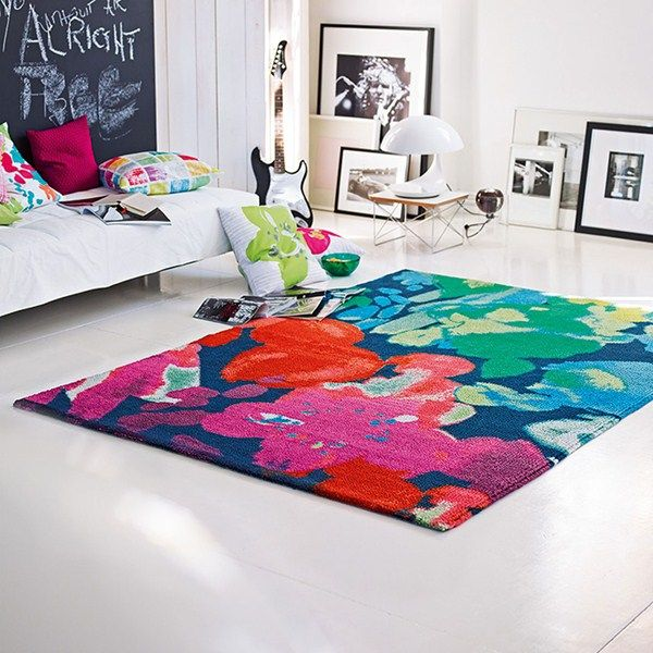 Esprit Spring Flower Rugs 0200 01 Bright Multi Buy Online From The Rug Seller Uk Flower Rug Rugs Modern Rugs