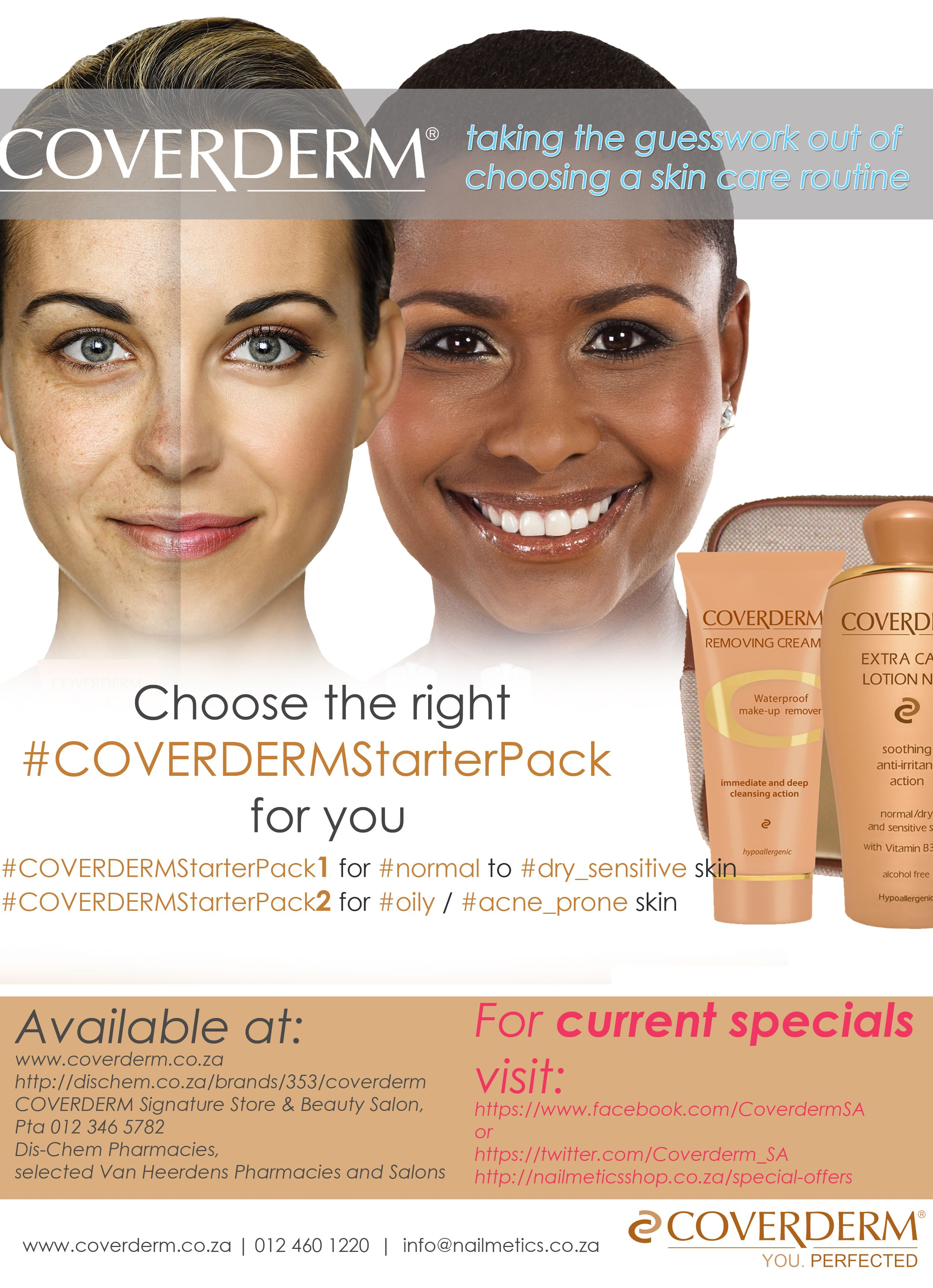 Pin By Coverderm South Africa On Coverderm Skin Care Advice Dry