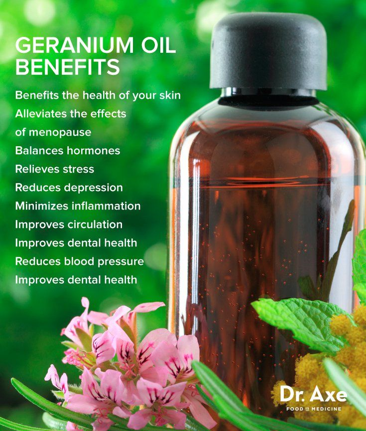 14 Geranium Oil Uses and Benefits for Healthy Skin and More #healthyskin