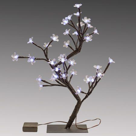 Cherry Blossom Tree Light Centerpieces Smarty Had A Party Lighted Centerpieces Cherry Blossom Tree Tree Lighting