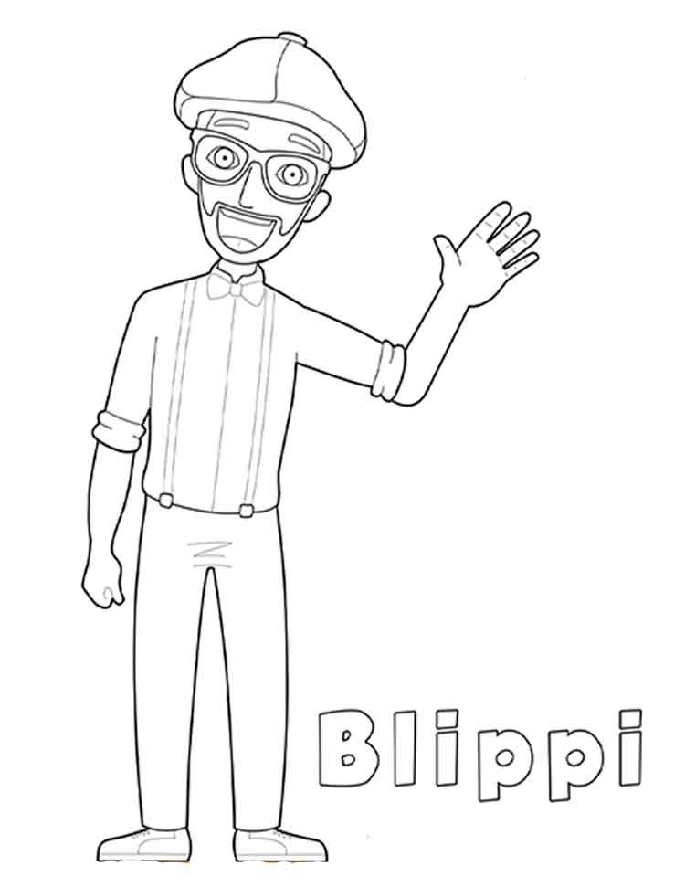 10 Best Free Printable Blippi Coloring Pages For Kids Birthday Coloring Pages Coloring Pages For Boys Coloring Pages For Kids