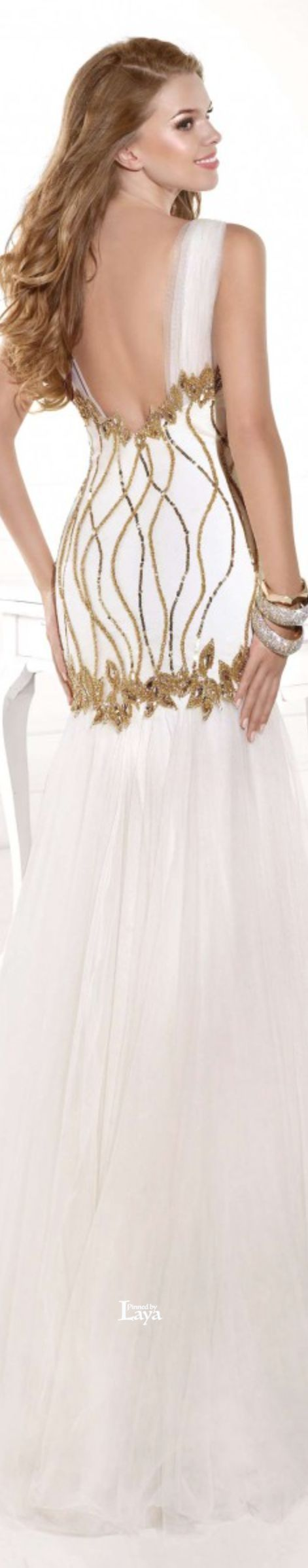 Wedding dress shops in deira dubai  Tarik Ediz  White u Gold Fashion  Pinterest  White gold