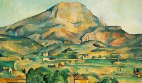 Mont Sainte Victoire Seen From Bellevue Cezanne Paul Cezanne Moderne Malerei Moderne Kunst