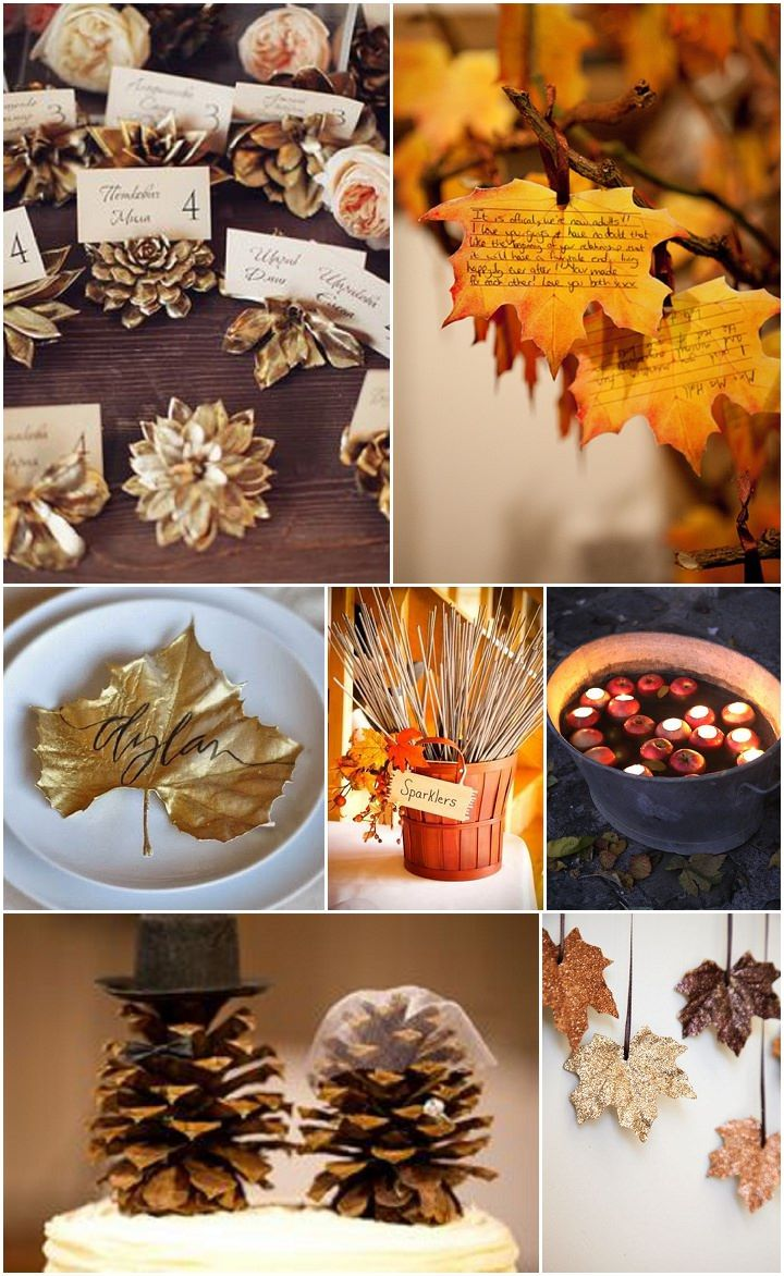 Ideas and Inspiration for your Autumn Wedding Wedding