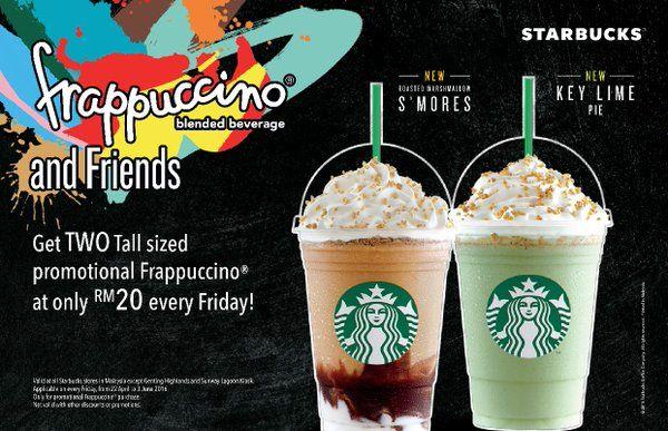 Starbucks Malaysia Starbucksmy Frappuccino Starbucks Frappuccino Starbucks