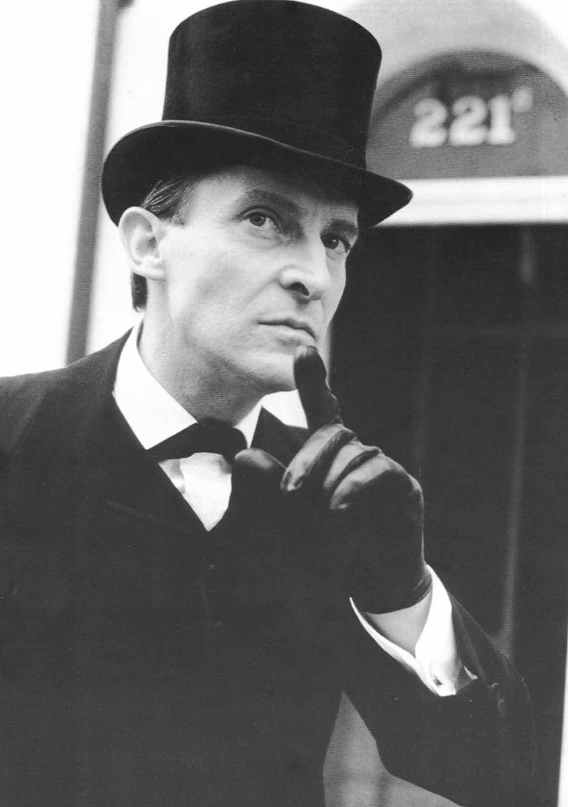 Sherlock Holmes Jeremy Brett : sherlock, holmes, jeremy, brett, Sherlock, Holmes, Photo:, Jeremy, Brett, Holmes,, Adventures
