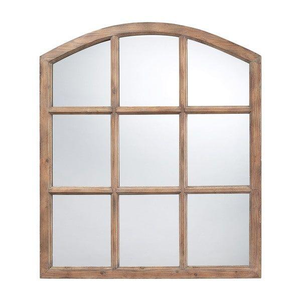 Union Faux Window Mirror
