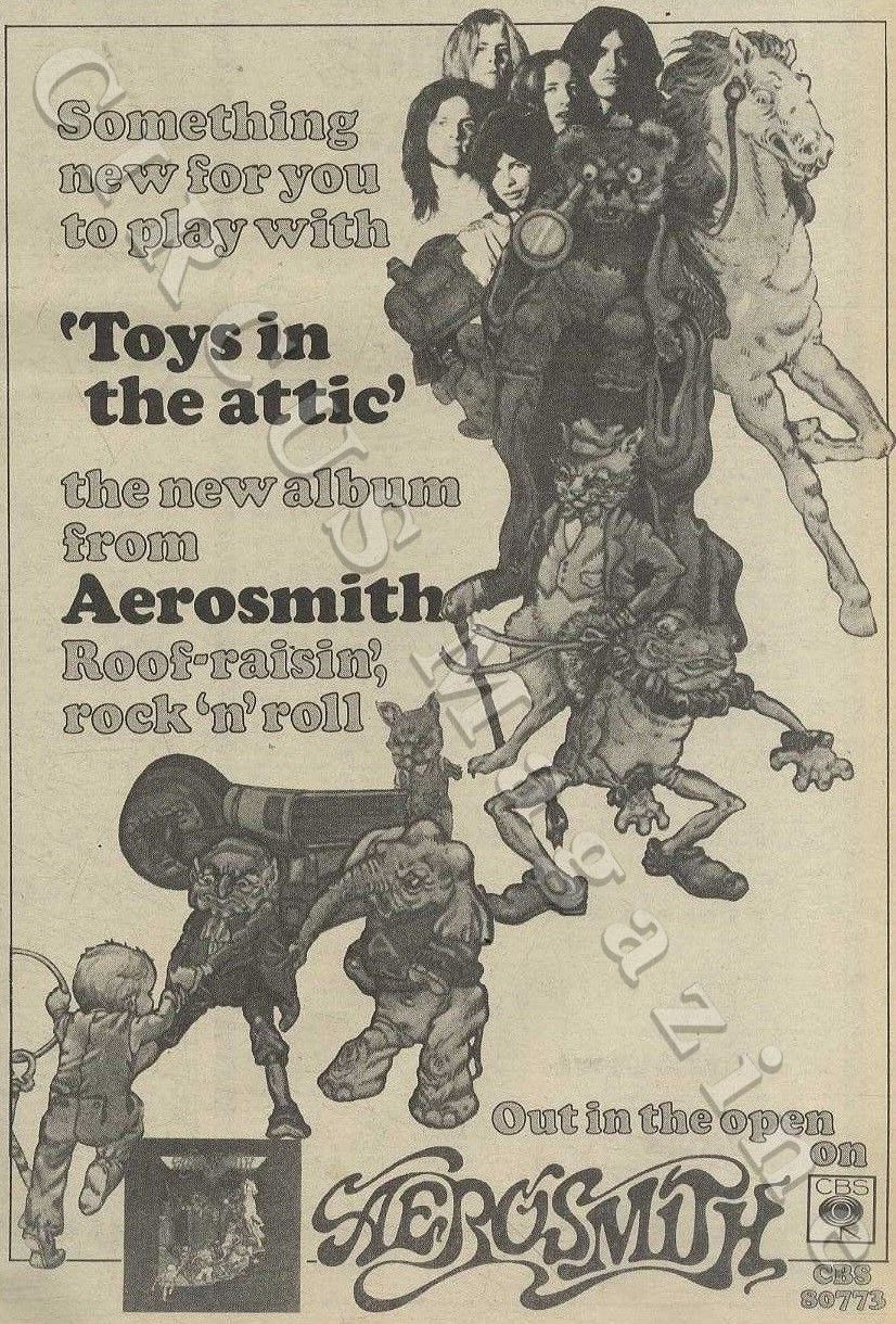 Pin By Circus Magazine On 018 Aerosmith Toys In The