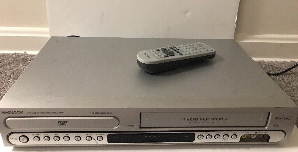 Magnavox MDV560VR DVD/VCR Player Video Cassette Recorder