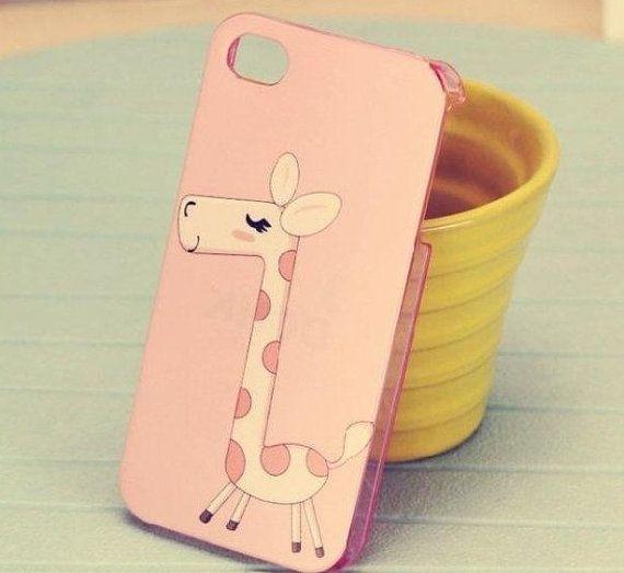 iphone 4 case  iphone 4s case covers  cute Giraffe  by asmate, $13.50