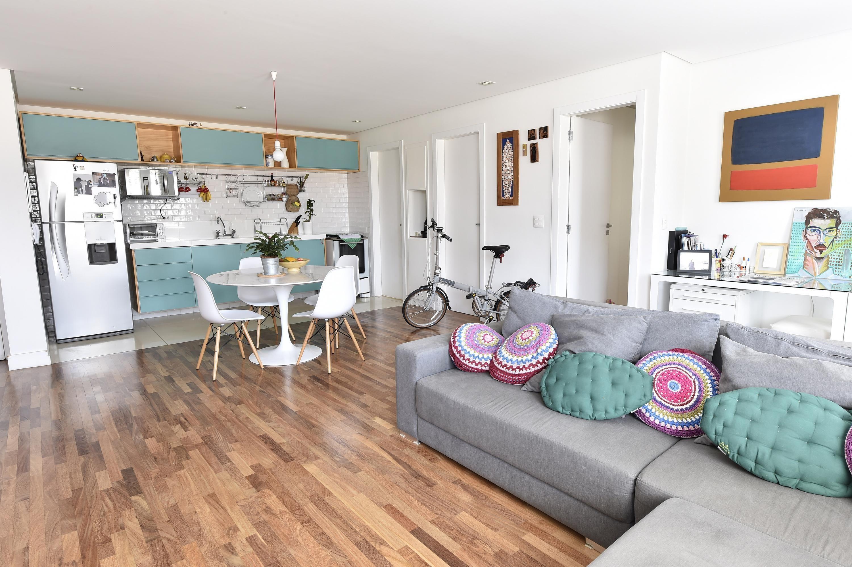 Sala E Cozinha Conjugada Em Um Projeto Moderno E Criativo House