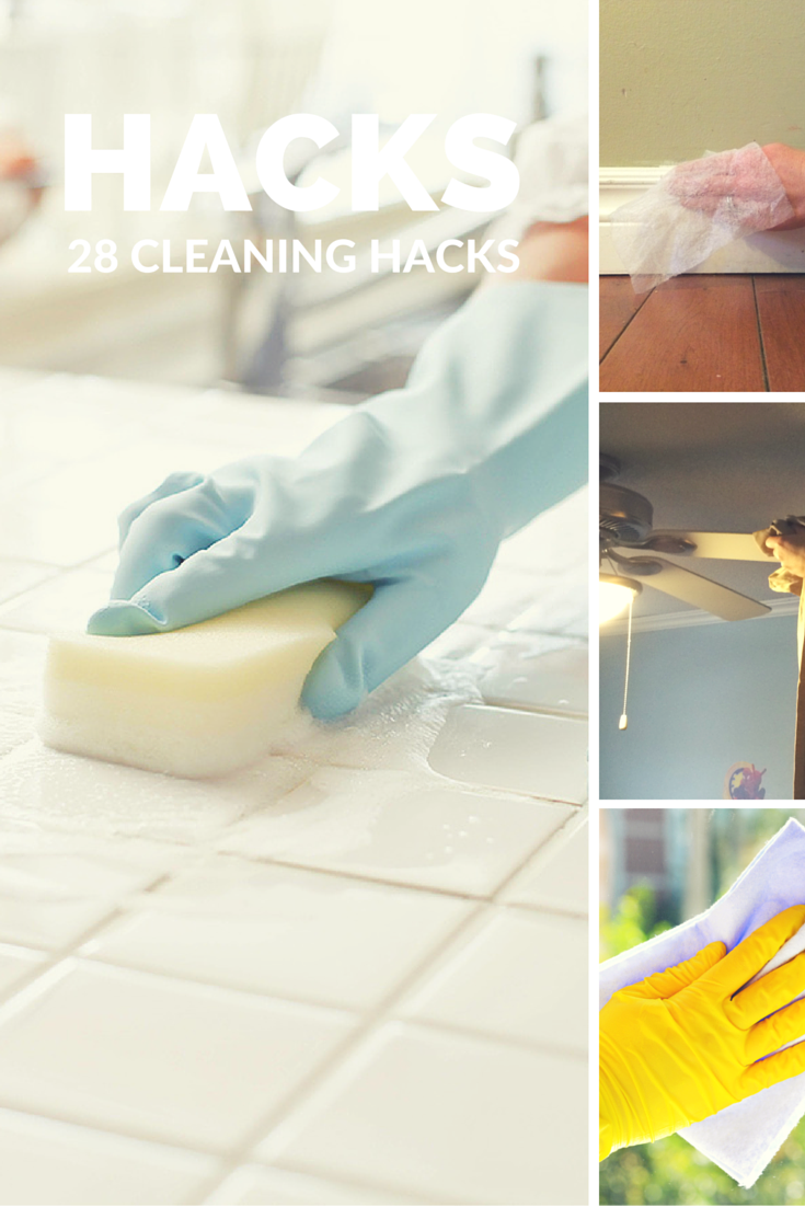 28 Cleaning Hacks Everyone Should Know | Pinterest | Life hacks ...