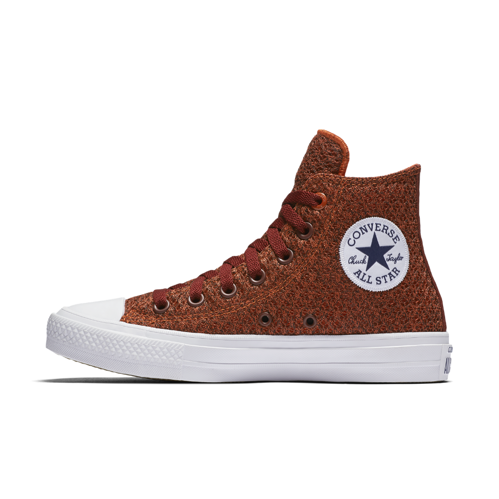 Converse Chuck II Spacer Mesh High Top Women's Shoe Size 8.5 (Red) -  Clearance