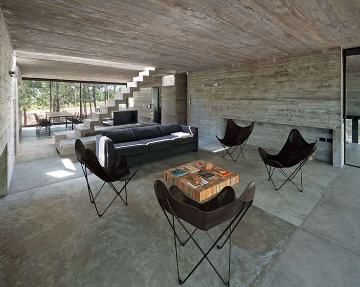 Exposed Concrete As Architectural Elements