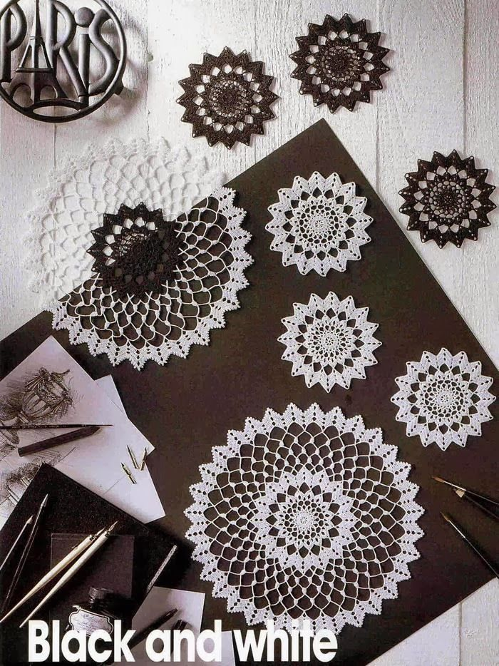 Crochet Art: crochet Doilies With Schema