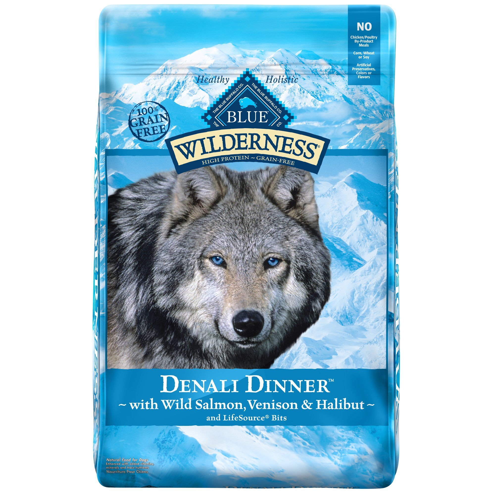 Blue Buffalo Blue Wilderness Denali Dinner With Wild Salmon