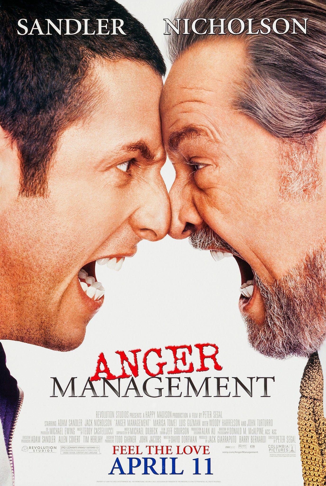 Anger Management 2003 Anger Management Movie Posters Anger