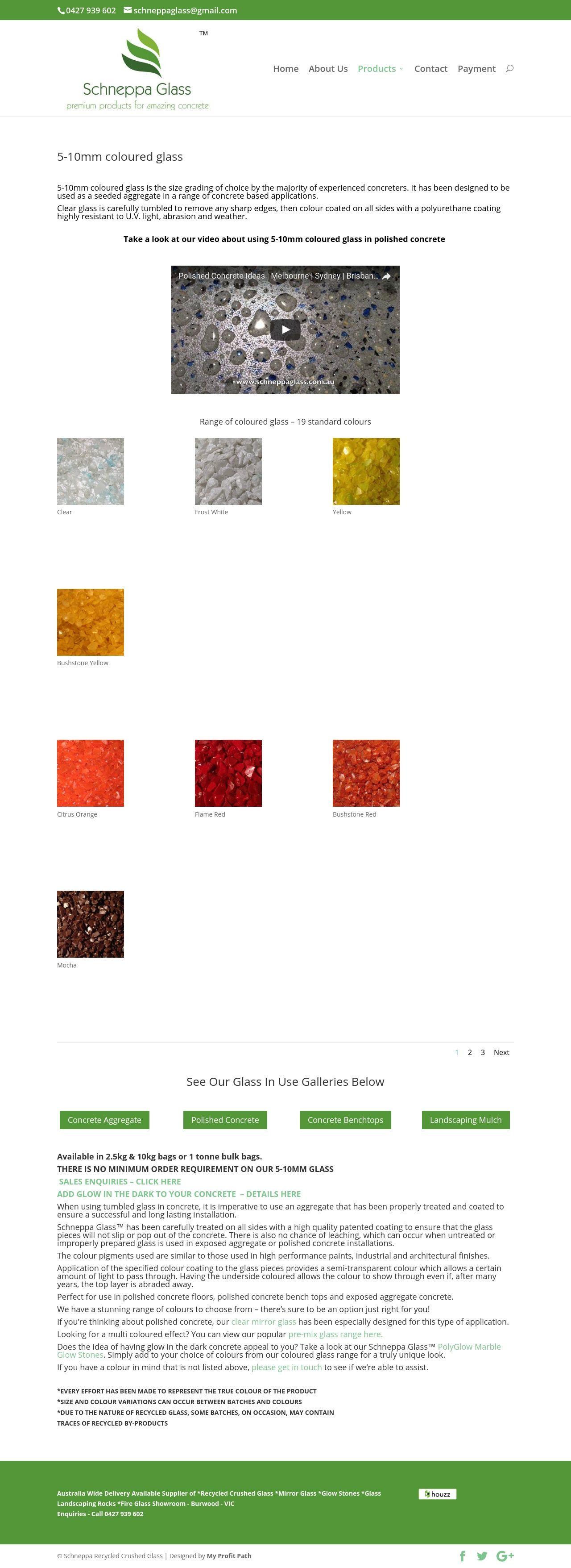 pre mix glass page schneppa glass new website launch pinterest