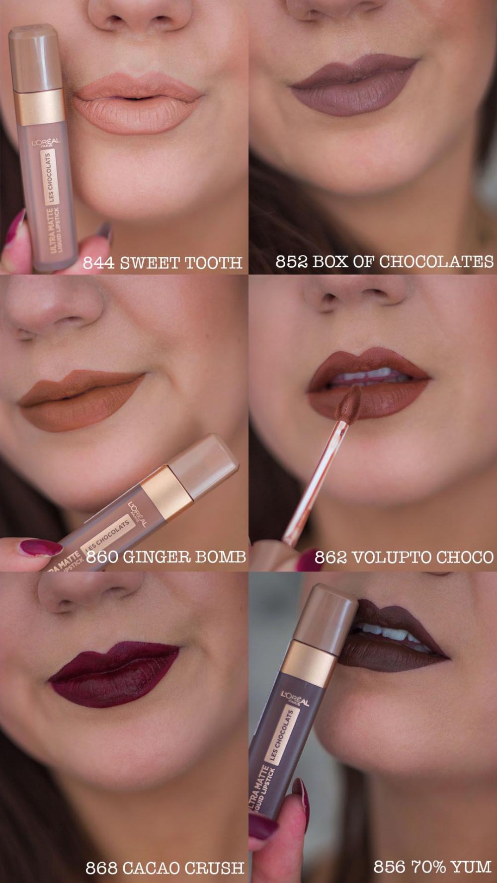Les Chocolats Ultra Matte Liquid Lipstick 852 Box Of Chocolate Google Da Ara Rujlar Makyaj Gerecleri Dudak Renkleri