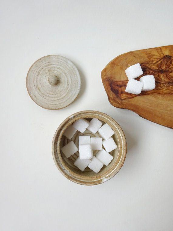 Rustic Ceramic jar  Handmade Ceramic by viCeramics on Etsy