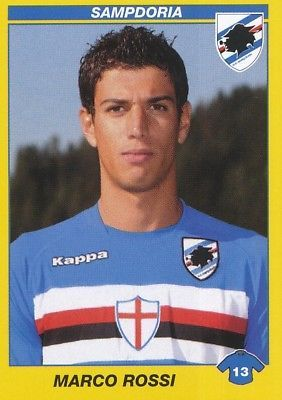 417 Marco Rossi Italia Uc.sampdoria Sticker Calciatori