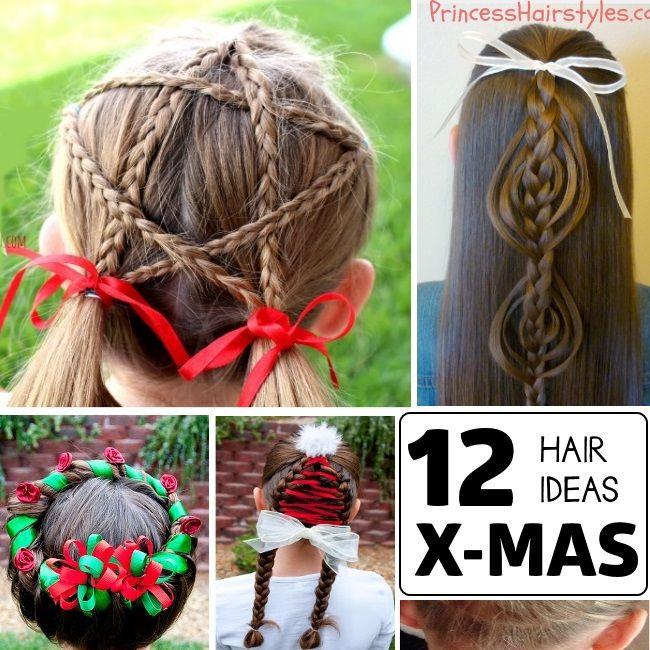 Holiday Hair Ideas Holiday Hairstyles Hair Styles Christmas Hairstyles