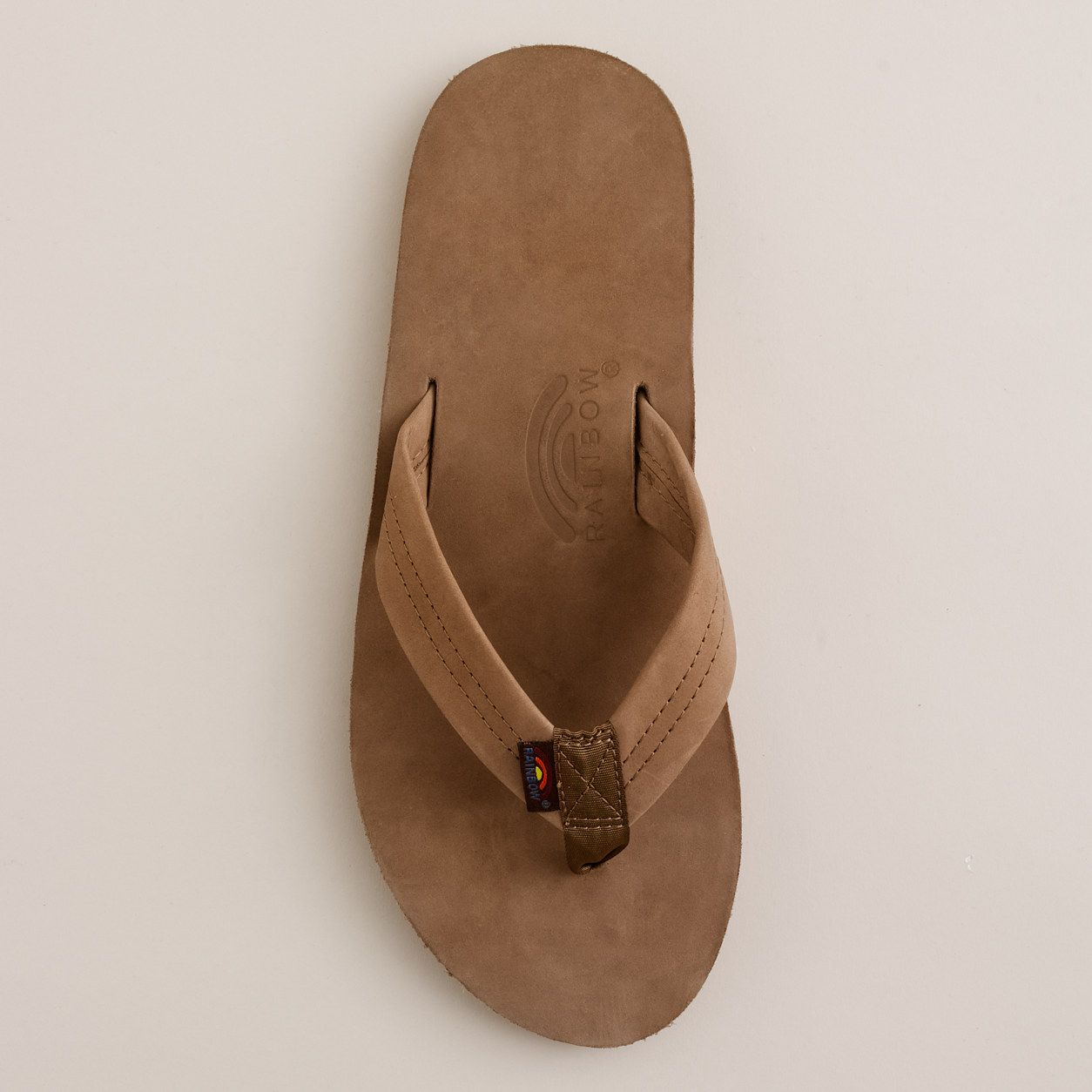 14c5560257ce Men s Rainbow® leather flip-flops   Rainbow Sandals