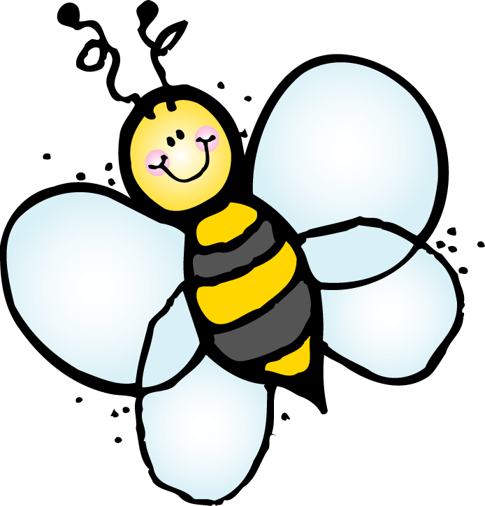 clipart bees free venoprepo top rovarok lepk k bugs butterflies rh pinterest com busy bee clip art free busy bee clip art free