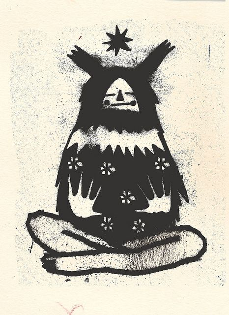 by osian efnissien, via Flickr - this feels very shaman to me - why I chose to pin it here :)