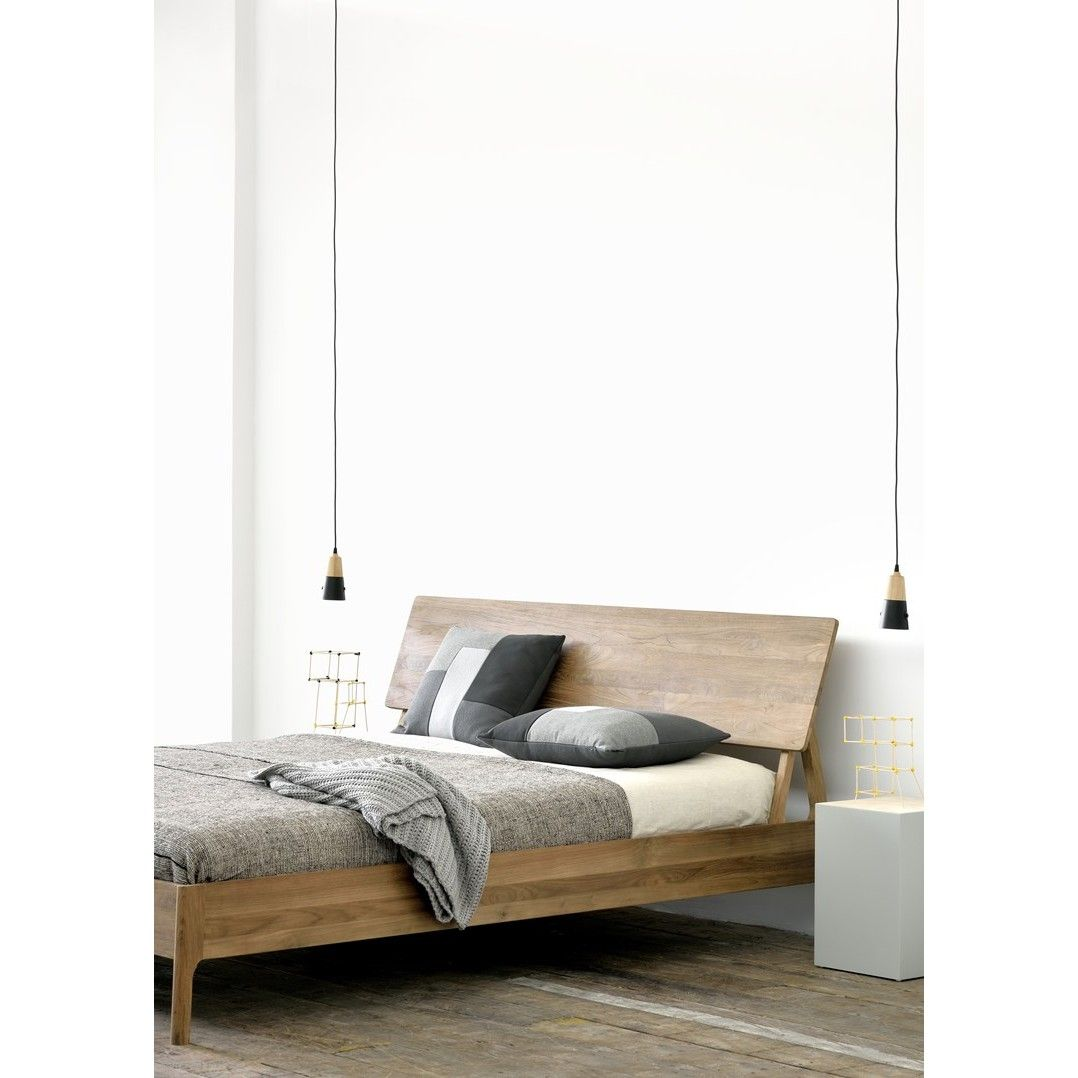Ethnicraft Air teak bed - Ledikant - Slaapkamer | Fundesign.nl | Bed ...