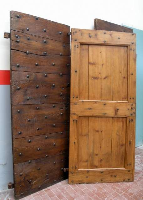 Restauro porte portoni antichi 3 porte scorrevoli - Restauro porte interne ...