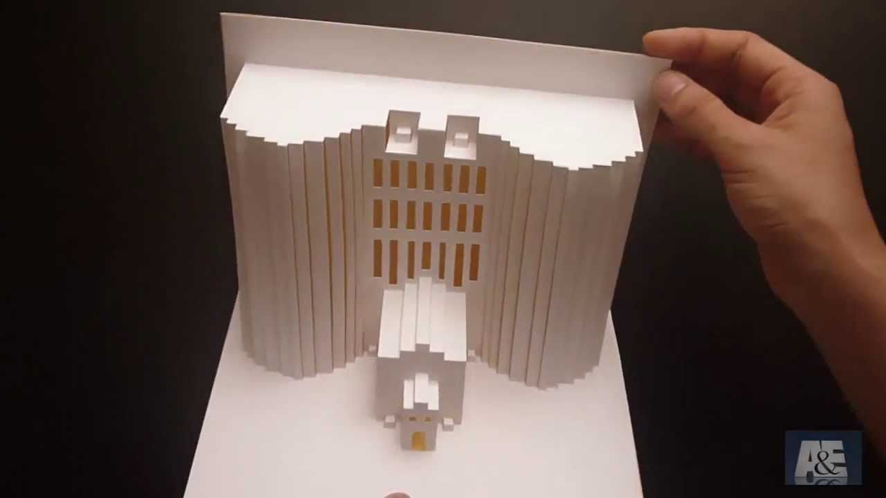 Pop Up Building Card Tutorial - Origamic Architecture
