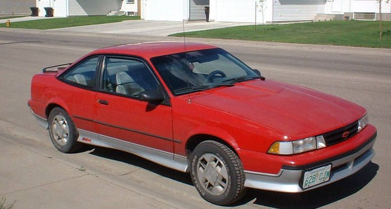 My First Car A Red 1989 Chevy Cavalier Z24 Oh How I Loved That