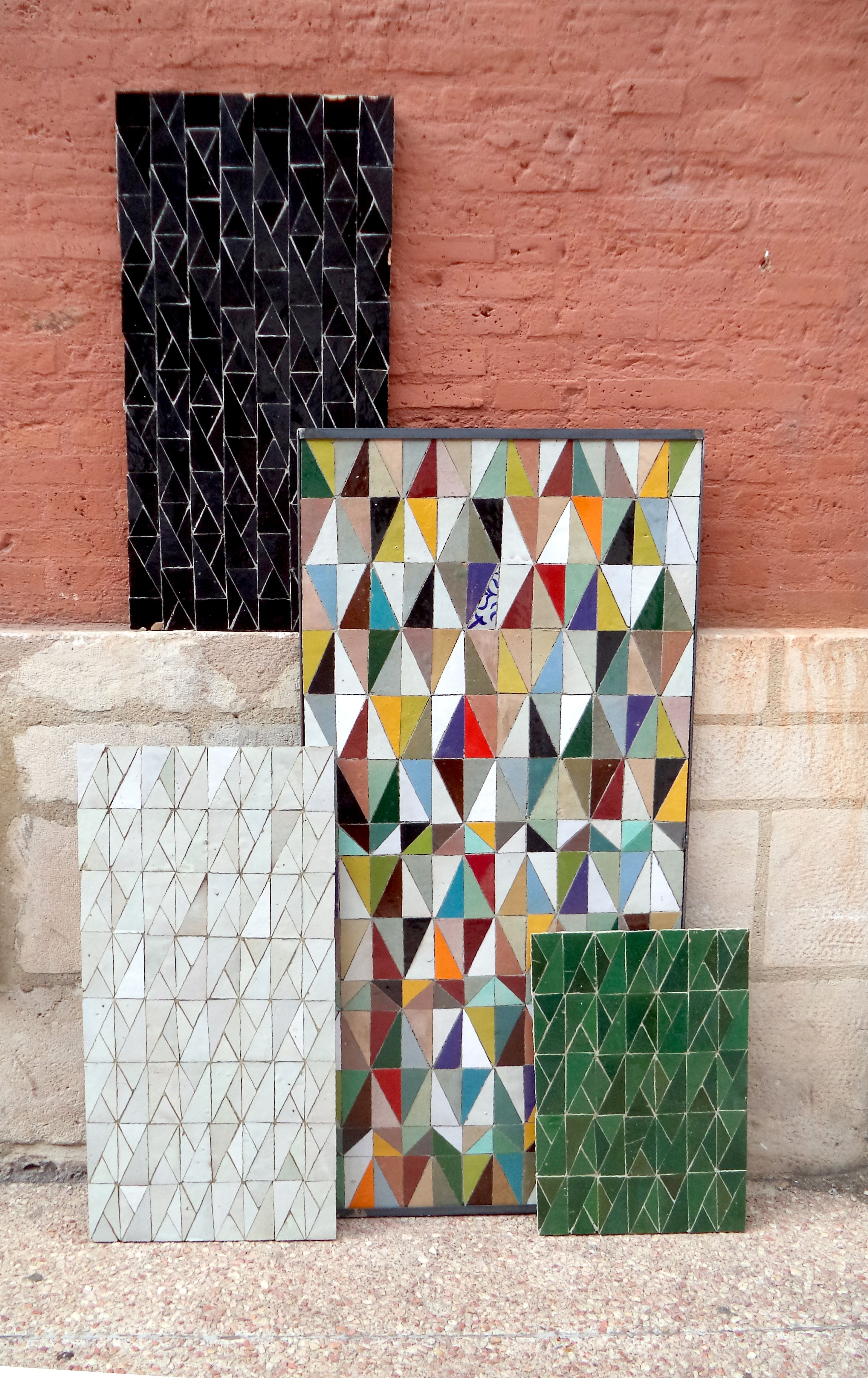trendy pattern exclusive design by ateliers zelij terasse pinterest fliesen porzellan. Black Bedroom Furniture Sets. Home Design Ideas
