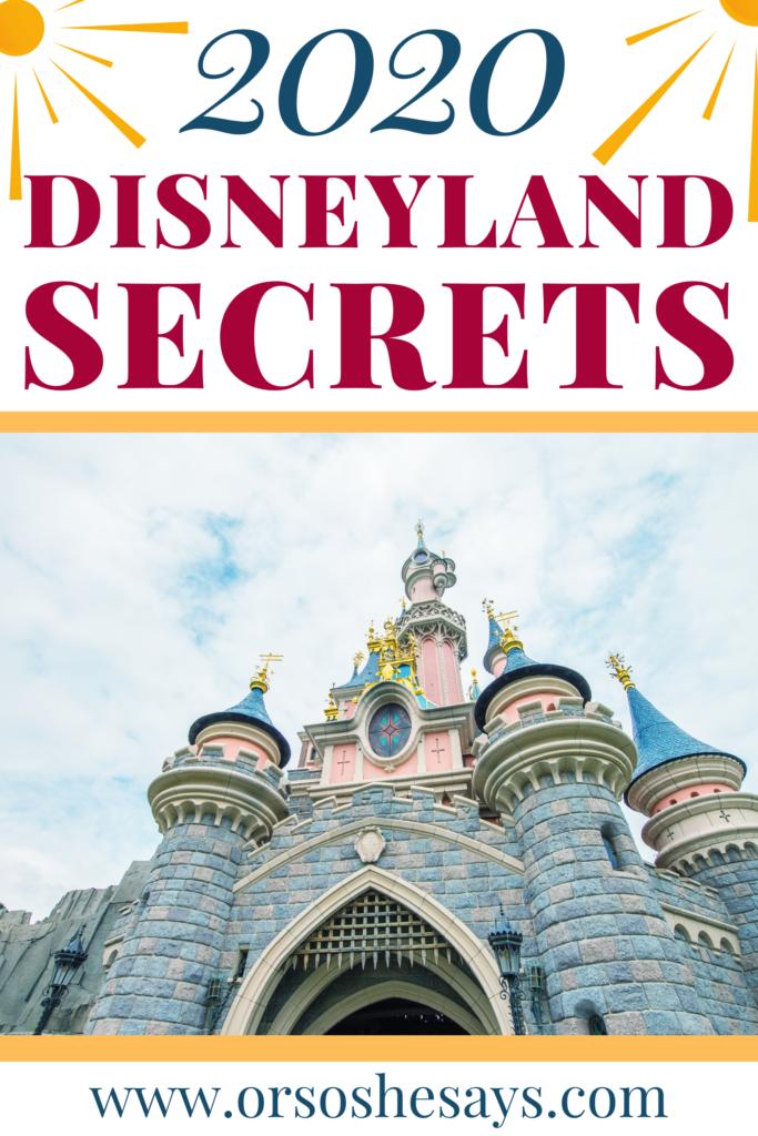 26 Disneyland Secrets, Tips, and Tricks for 2020