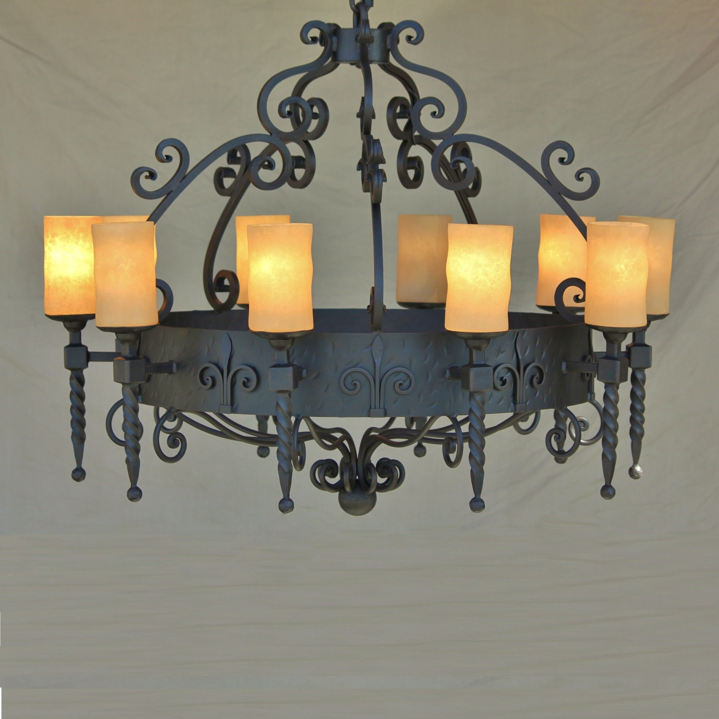 Spanish Revival Chandelier Ceiling Chandelierceiling Fixtureswrought Iron