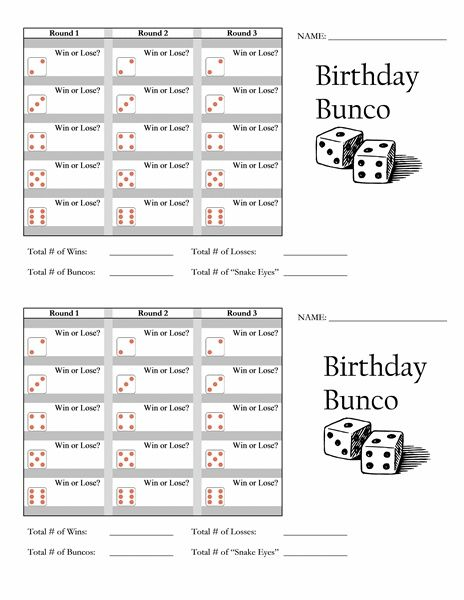 245e5af643d603adb3e57709588b7950jpg 464×600 pixels Bunco - bunco score sheets template