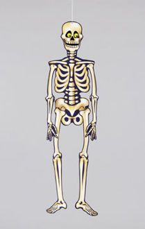 funny skeleton  zabawny szkielet  www.partykiosk.pl