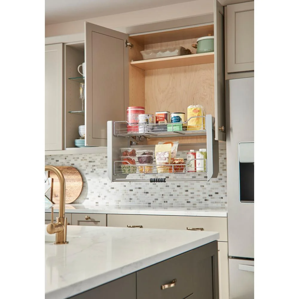 10 Handy Products For The Short People In Your Life In 2020 Rev A Shelf Pull Down Shelf Wall Cabinet