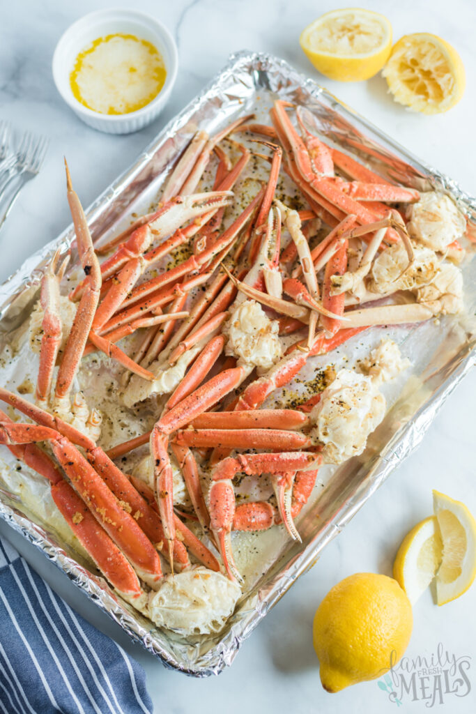 Snow Crab Legs These Snow Crab Legs Are So Easy To Make Once You Learn How To Make Snow Crab Legs You Ll Snow Crab Legs Crab Legs Recipe Family Fresh