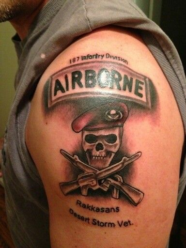 Coloured Symbol Of Us Army Tattoo On Shoulder Tattoos Pinterest