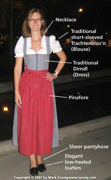04c86f0ac626c Traditional Bavarian Dress for women for Oktoberfest